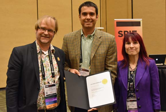 Ata Dolatmoradi Accomplishment at SPIE Photonics West 2017 Conference