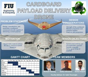 Cartboard Delivery Drone