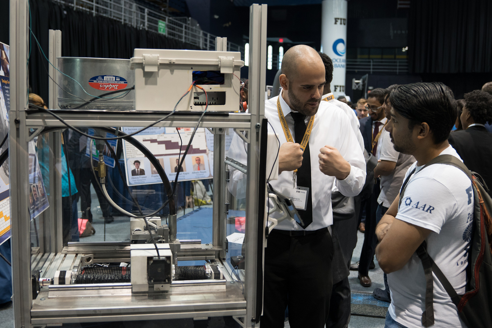 Spotlight shines on soon-to-be engineers and their senior design projects