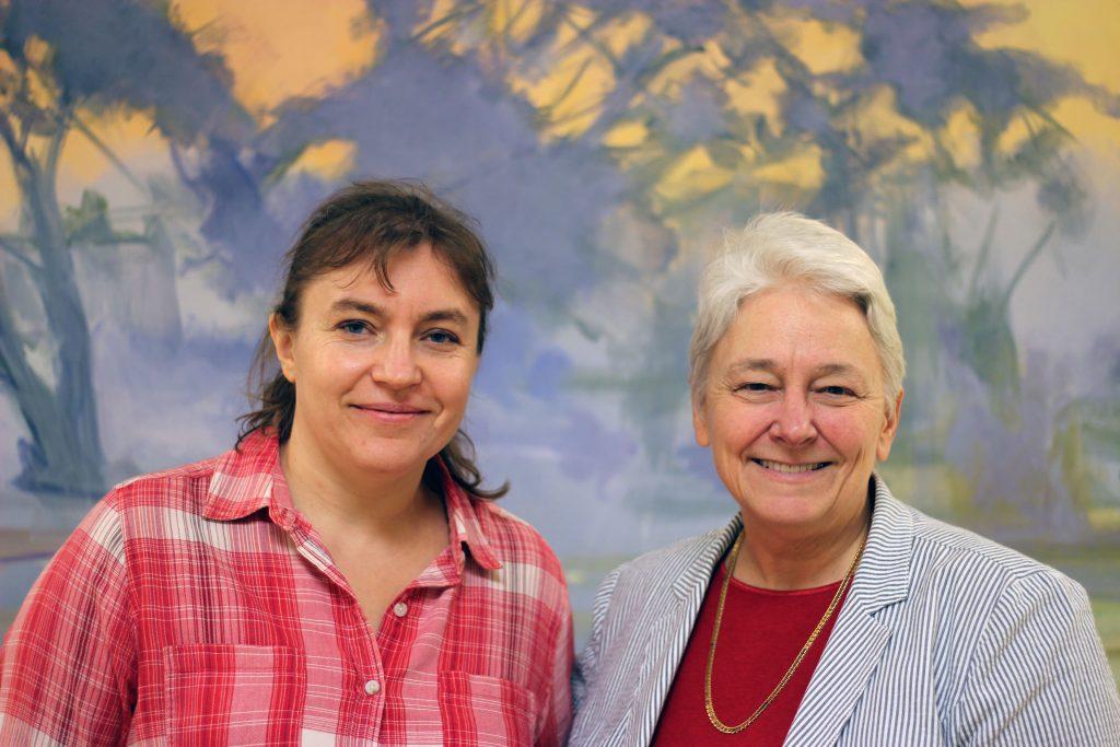 Svetlana Roudenko, left, and Suzanna Rose