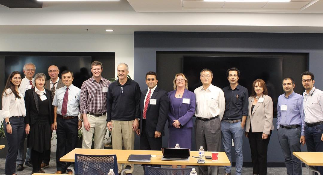 World Class Renown Researchers gather at FIU for AFRL-FIU Symposium about Physics of Evolutionary Design in Aerospace Systems.
