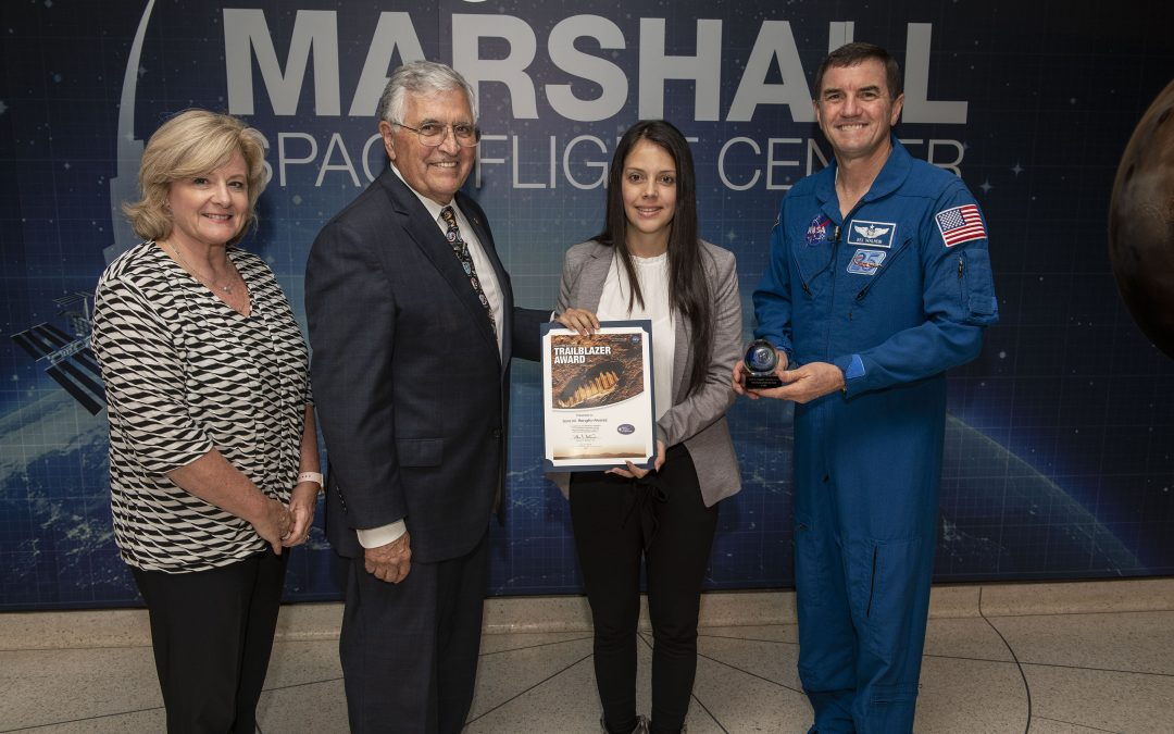 MME Grad Receives Prestigious NASA Trailblazer Award